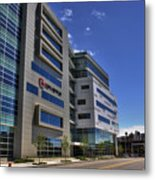 02 Conventus Medical Building On Main Street Metal Print