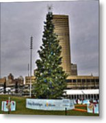 02 Happy Holidays From First Niagara Metal Print