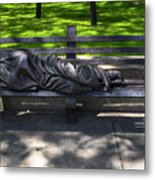 02 Homeless Jesus By Timothy P Schmalz Metal Print