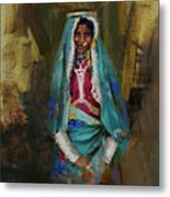 030 Sindh Metal Print