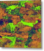 0374 Abstract Thought Metal Print