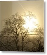 04 Foggy Sunday Sunrise Metal Print