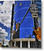 04 W Chipp And Delaware Construction  Metal Print
