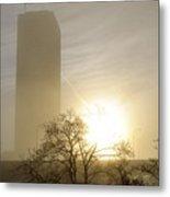 05 Foggy Sunday Sunrise Metal Print