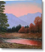 051116-3020     First Light Of Day   Metal Print