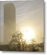 06 Foggy Sunday Sunrise Metal Print