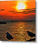 06 Sunset Series Metal Print