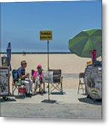 0676- Venice Beach Metal Print
