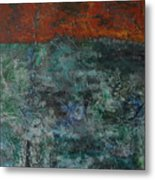068 Abstract Thought Metal Print
