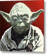 068. Do Or Do Not. There Is No Try Metal Print by Tam Hazlewood
