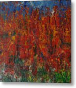 073 Abstract Thought Metal Print