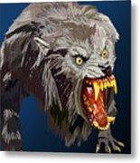 073. Once A Werewolf Always A Werewolf Metal Print