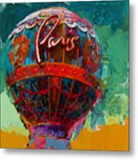 075 The Iconic Paris Casino Balloon Metal Print