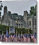 08 Flags For Fallen Soldiers Of Sep 11 Metal Print