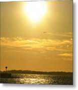 08 Sunset 16mar16 Metal Print