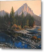080414-4030 September Evening On Horse Thief Creek Metal Print