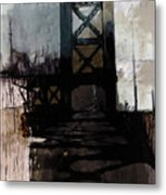 083 Manhattan Bridge Metal Print