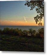 0874- Lake Michigan Sunset Metal Print