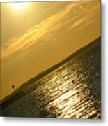 09 Sunset 16mar16 Metal Print