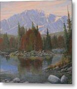 090506-1418   Colorado Morning Metal Print