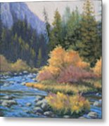 090917-68  Canyon Stream Metal Print