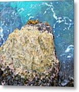 Sea Rocks Metal Print