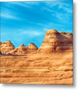 Famous Delicate Arch In Arches National Park Metal Print