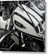 1 - Harley Davidson Series  Metal Print by Lainie Wrightson