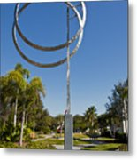 The Vero Beach Museum Of Art In East Central Florida Metal Print