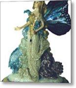 01md076-madame Butterfly Metal Print by Shirley Heyn