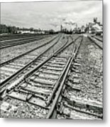 10th St. Tracks Metal Print