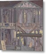 14th Street Theatre Metal Print