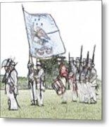 1812 Soldiers Metal Print