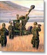 1-190th Artillery Metal Print by Scott Robertson