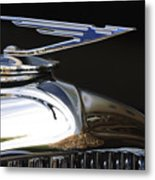 1929 Duesenberg Model J Hood Ornament Metal Print
