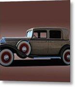 1932 Classic Buick 4 Door Sedan Metal Print