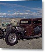 1932 Chevrolet Rat Rod Metal Print