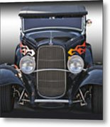 1932 Ford 'traditional' Hot Rod Roadster Metal Print