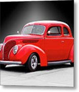 1938 Ford Five-window Coupe II Metal Print