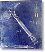 1940 Fireman Ax Patent Metal Print