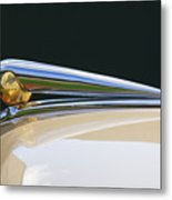 1941 Lincoln Continental Hood Ornament 2 Metal Print