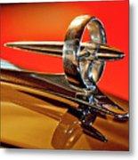 1947 Buick Roadmaster Hood Ornament Metal Print