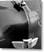 1949 Studebaker Champion Hood Ornament Metal Print