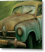 1950's Vintage Borgward Hansa Sports Coupe Car Metal Print