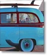 1954 Pontiac Chieftain Station Wagon Metal Print