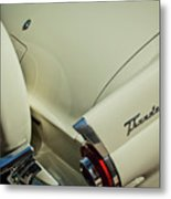 1956 Ford Thunderbird Spare Tire Metal Print