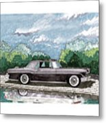 1956  Lincoln Continental Mk II Metal Print