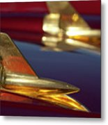 1957 Chevrolet Hood Ornament Metal Print