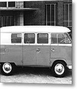 1960 Volkswagon Microbus Metal Print
