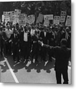 1963 March On Washington. Famous Civil Metal Print by Everett